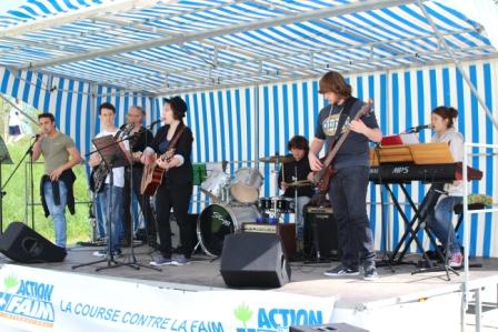 Atelier Rock du lycée en concert