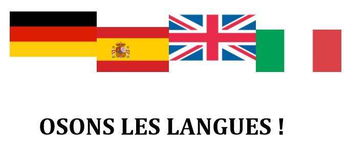 Semaine des langues vivantes du 15 au 20 mai