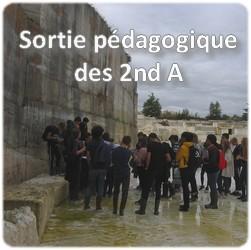 Sortie pédagogique des 2nd A